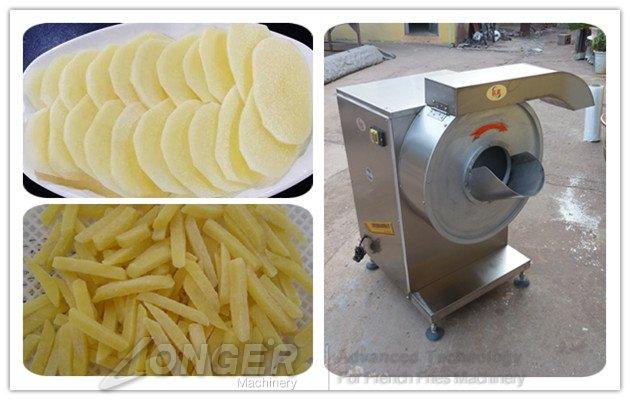 162b1c6fed7 Industrial Potato Cutting Machine